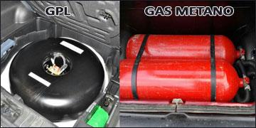 Sostituzione Bombole GPL e GAS METANO